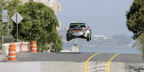 Ken Block sues over gymkhana URL