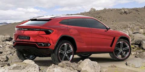Lamborghini Urus SUV expected at Australian motor show