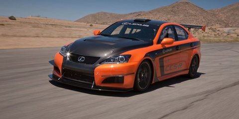 Lexus IS F impresses at Pikes Peak