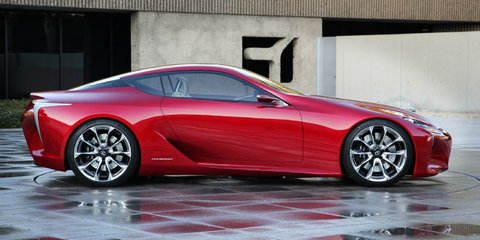 Lexus LF-LC evolution concept to make global debut at Sydney motor show