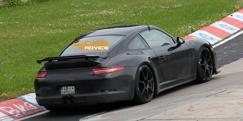 Porsche 911 GT3 snapped testing in Germany