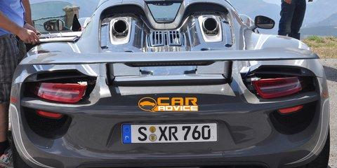 Porsche 918 Spyder spy shots - 11