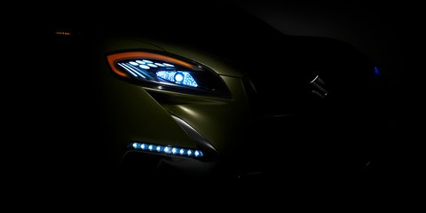 Suzuki S-Cross crossover concept revealed