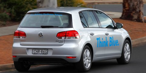 Volkswagen Think Blue Eco Driving Challenge