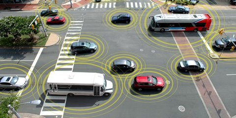 First large-scale vehicle-to-vehicle communication technology test unveiled