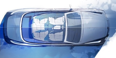 Bentley Mulsanne Convertible previewed in design sketches