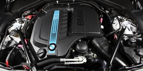 BMW ActiveHybrid 5 here in October; two more hybrids on the way
