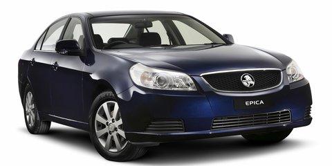 Holden recalls 50,000 Korean-built cars and SUVs