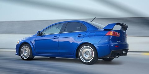 Mitsubishi Lancer Evolution gets price cuts up to $8900