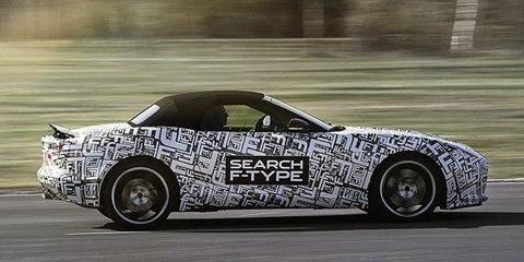 Jaguar F-Type locked in for Sydney motor show