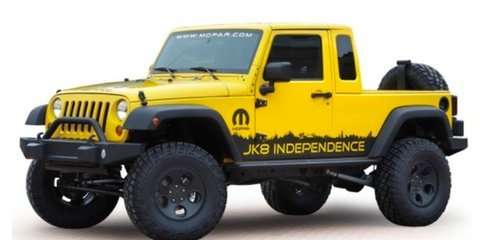 Jeep Wrangler ute a chance for 2015