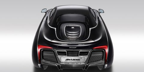 McLaren X-1 concept: bespoke Brit gets Batmobile treatment