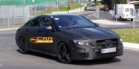 Mercedes-Benz CLA45 AMG: first look at red-hot baby CLS