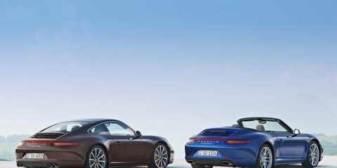 Porsche 911 Carrera 4 and 4S leaked
