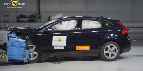 Holden Volt, Renault Megane, Audi A3 and Volvo V40 get 5-star NCAP safety rating