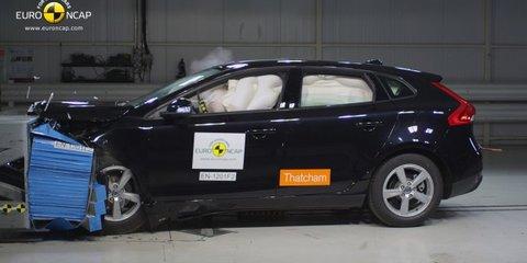 Volvo V40 breaks safety records in Euro NCAP crash testing