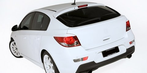 Holden Cruze turned into 180kW Walkinshaw Performance hot-hatch