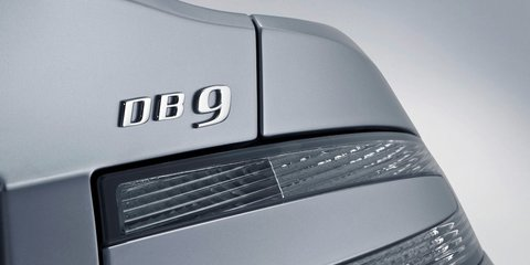 2013 Aston Martin DB9 - Badge