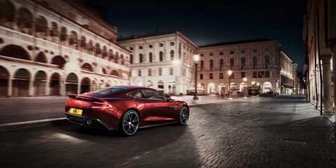 Aston Martin Vanquish: official footage, images released
