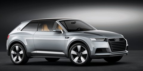Audi Crosslane Coupe hybrid previews future Q-series SUVs