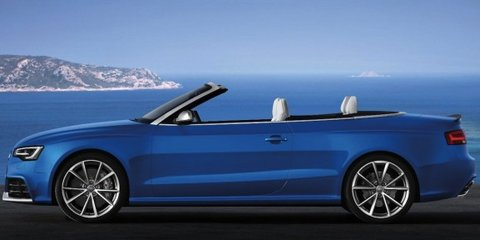 Audi RS5 Cabriolet: official images of roofless bahn-stormer