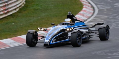 Ford 1.0-litre EcoBoost-powered race car blitzes the Nurburgring