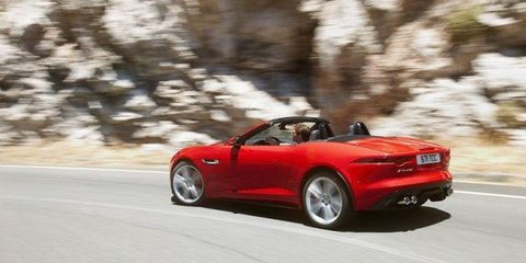 Jaguar F-Type: rear end, interior revealed in more leaked images