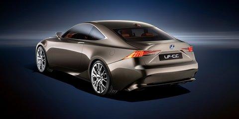 Lexus LF-CC concept previews 2013 IS sedan and coupe