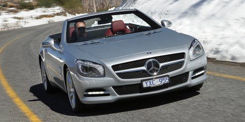 Mercedes-Benz SL350 and SL500 Review