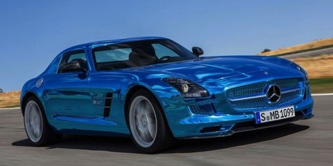 Mercedes-Benz SLS AMG Electric Drive: world's most powerful EV