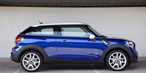 Mini Paceman: official details of 4WD coupe