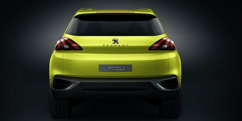Peugeot 2008 concept: three-cylinder baby SUV set for production in 2013