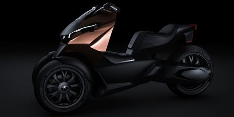 Peugeot Onyx Concept Scooter: hybrid three-wheeler revealed