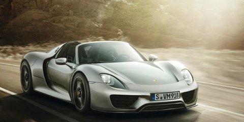Porsche 918 Spyder: leaked images join Nurburgring claim