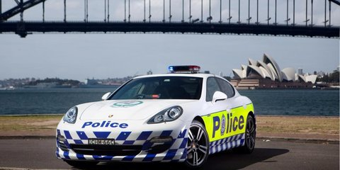 Porsche Panamera joins NSW Police