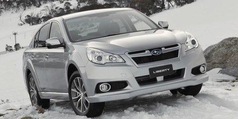 Subaru Liberty X: high-riding sedan added to updated 2013 range