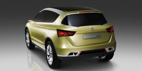Suzuki S-Cross crossover concept breaks cover in Paris