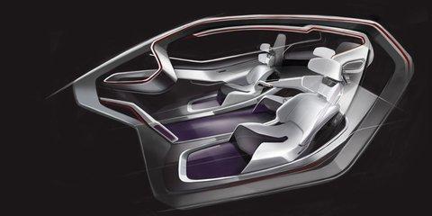 Volkswagen Trimaran Concept previews 2025 autonomous vehicle