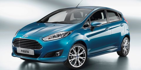 2013 Ford Fiesta: official images leaked