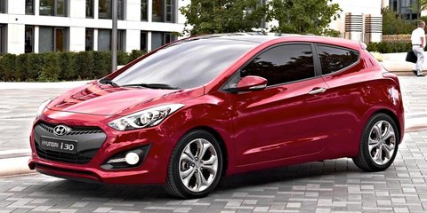 Hyundai i30 three-door: sleek looks for new small hatch