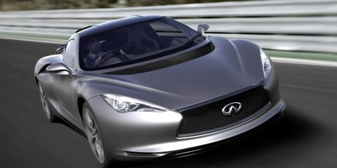 Infiniti G series: all-new model will be rear-wheel drive