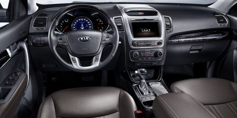 2013 Kia Sorento: new platform for updated SUV