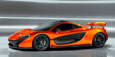 McLaren P1 leaked photo gallery reveals massive rear wing