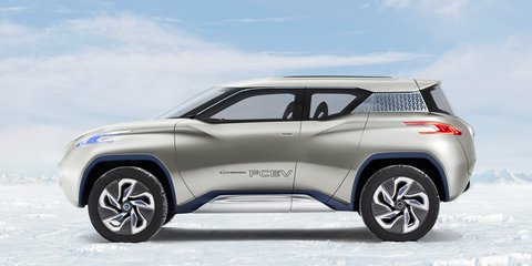 Nissan Terra concept: hydrogen fuel cell SUV headed to Paris
