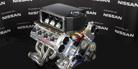 Nissan V8 Supercar engine revealed