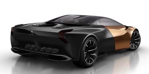 Peugeot Onyx supercar concept leaks