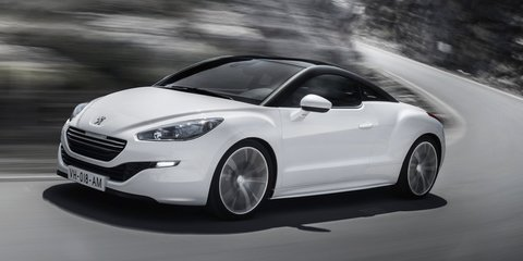2013 Peugeot RCZ: updated styling for sporty French coupe