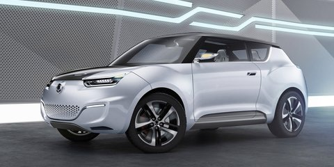 Ssangyong e-XIV plug-in previews efficient new SUV