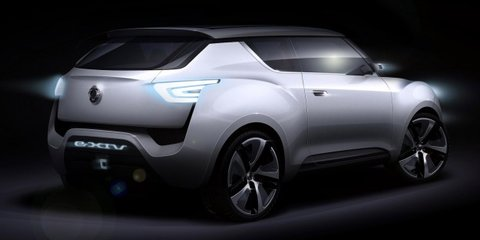 Ssangyong e-XIV plug-in SUV: concept headed to Paris