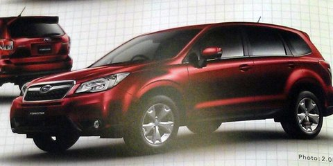 2013 Subaru Forester: first images of new mid-sized SUV